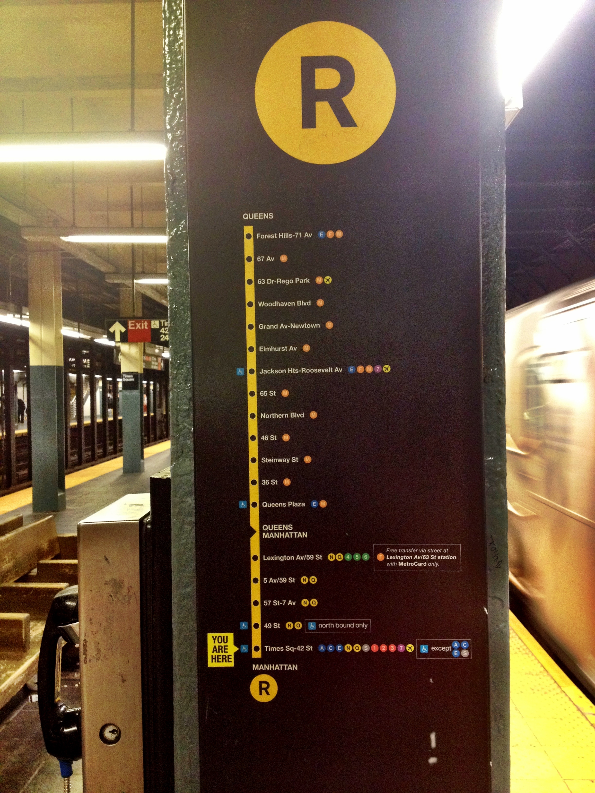 R Train Sign Cuteness In All Its Versatility