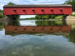 Covered Bridge Reflection